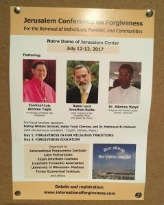 1705 Natalia Liviero Jerusalem Conference on Forgiveness
